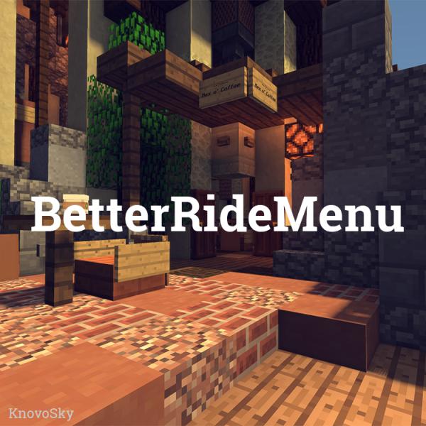BetterRideMenu